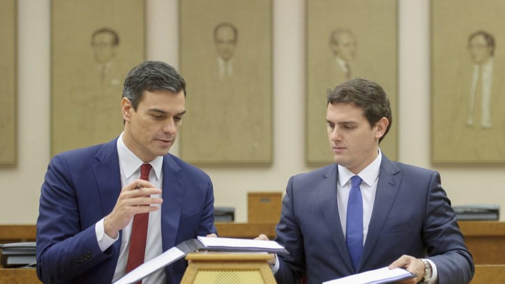 pedrosanchez albertribera1 - Los nueve puntos que plantea el acuerdo PSOE y Ciudadanos en materia de vivienda