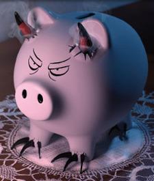 Cerdo endemoniado