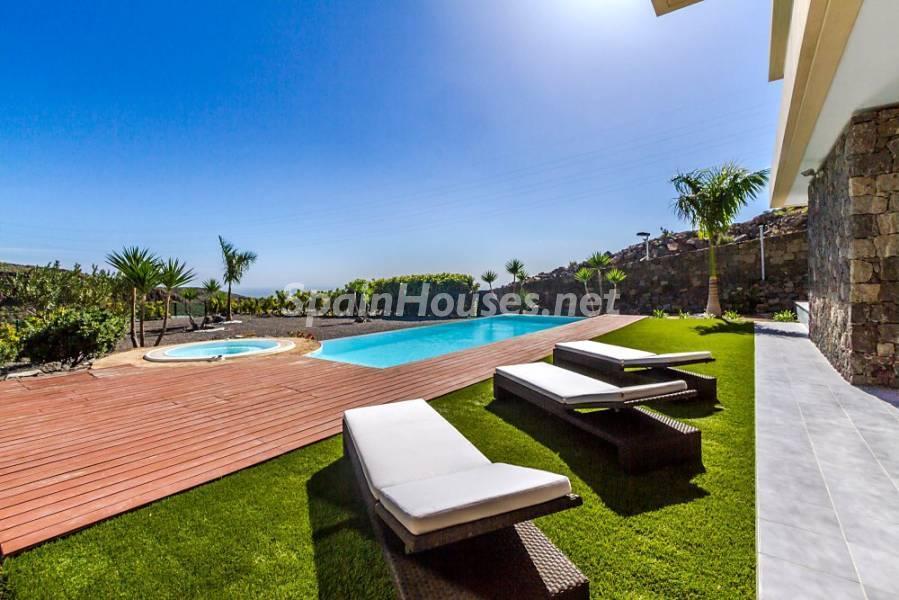 piscina 13 - Fantástica casa de diseño moderno en Monte León, San Bartolomé de Tirajana (Las Palmas)