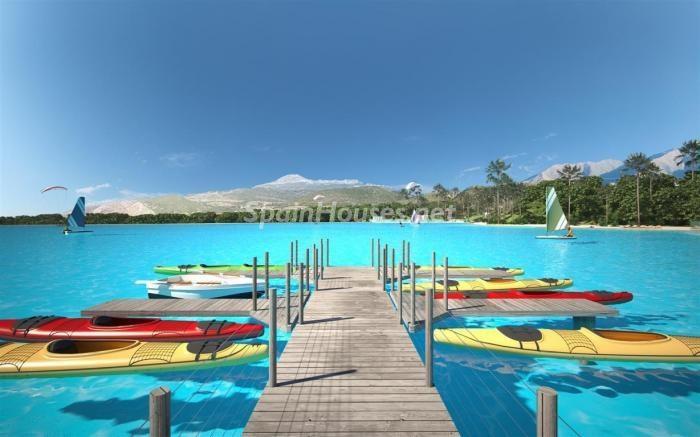 Crystal Lagoons, Casares (Málaga): Apartamentos en 1ª línea de playa, a 10 km del mar