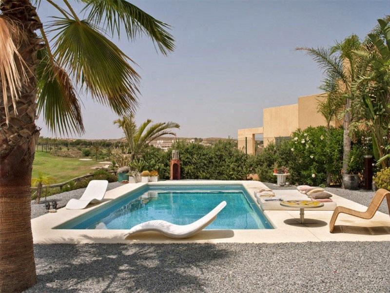 piscina 30 - Colores de la tierra y diseño en una fantástica casa en Mojácar (Almería)