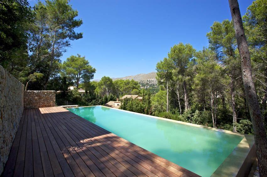piscina 33 - Diseño modular y mediterráneo en una genial casa en Pollensa (Mallorca, Baleares)
