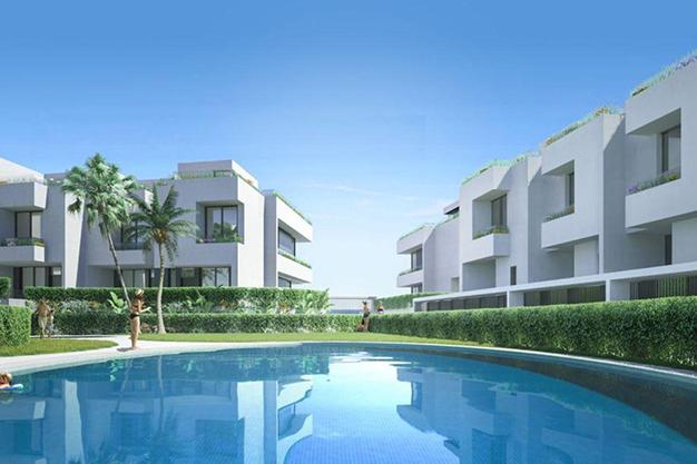 piscina 37 - Espectacular chalet adosado en Fuengirola: altas calidades, terrazas y jardín