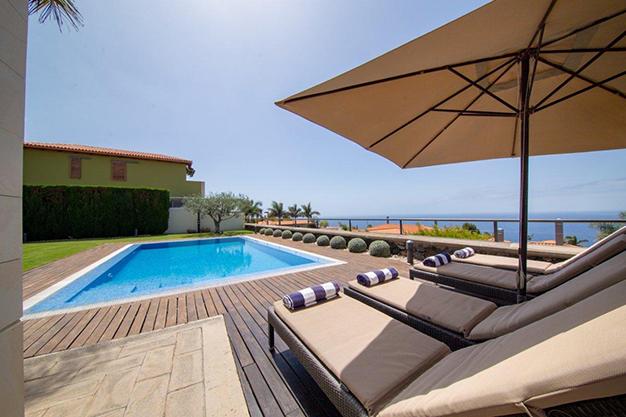 piscina 39 - Villa con vistas al mar en Tenerife: una casa de ensueño