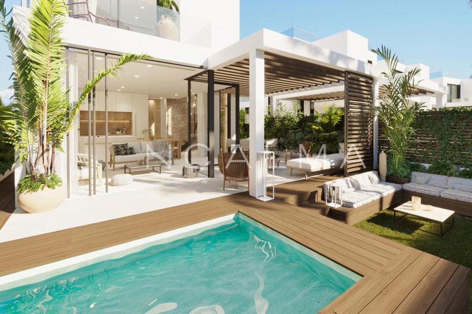 piscina 42 - Impresionante chalet en Ibiza: lujo cerca del mar