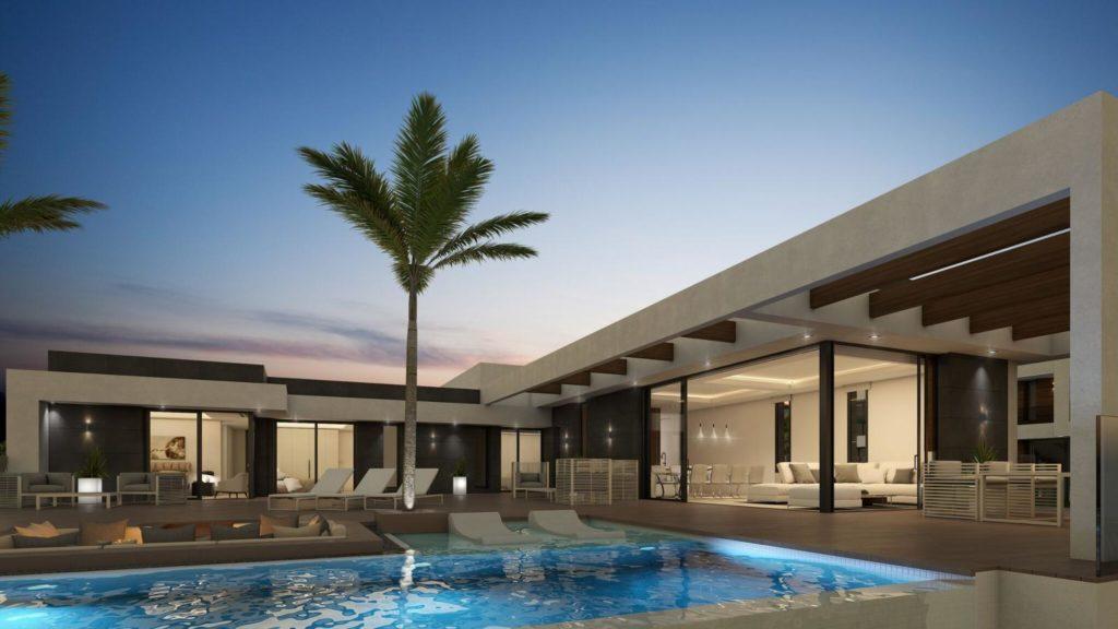 piscina 45 1024x576 - A la venta una de las villas más espectaculares de Alicante con increíbles vistas al mar