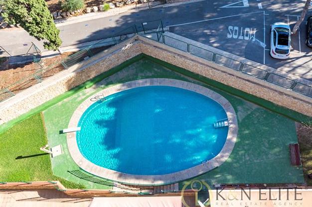 piscina atico cerca de la playa en Alicante - Espectacular ático cerca de la playa en Alicante: mar y montaña al alcance de tus ojos
