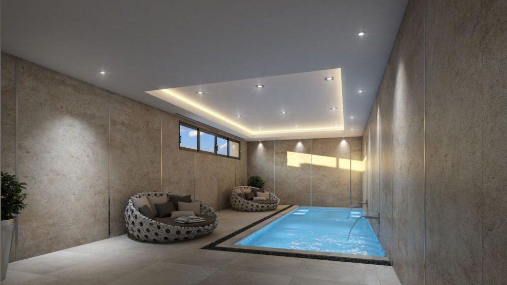 piscina interior 3 1024x577 - A la venta una de las villas más espectaculares de Alicante con increíbles vistas al mar