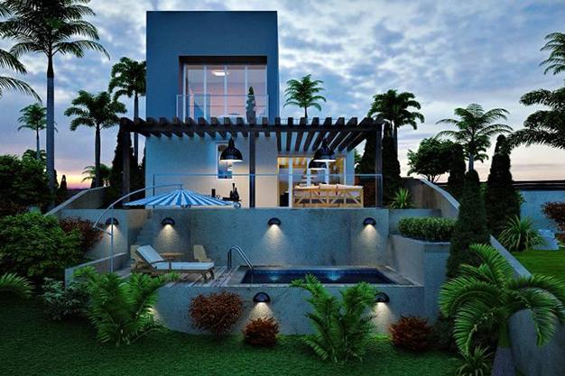 piscina palma de mallorca - Villa de lujo en Palma de Mallorca: modernidad y lujo para saborear el Mediterráneo