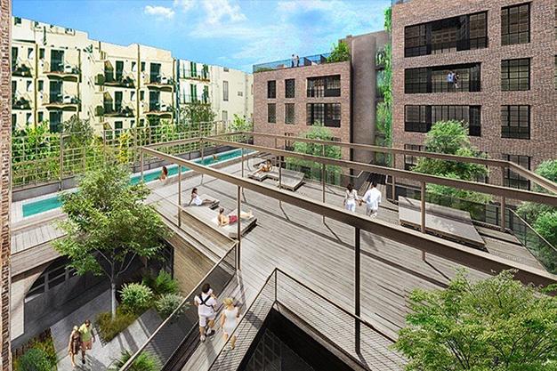 piscina raval - Moderno apartamento en el centro de Barcelona para los que buscan un estilo único