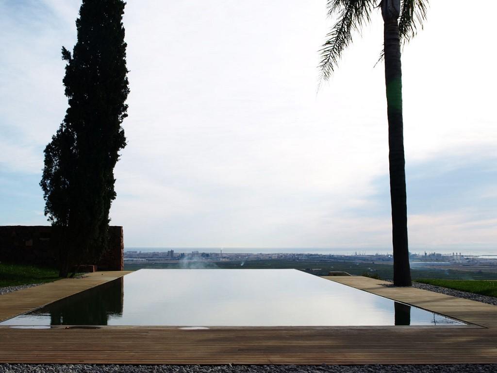 """piscina vistasalmar 1024x768 - """"Paz y Comedias"""": Piedra, elegancia y armonía en la Sierra de Valencia"""