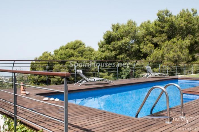 piscina112 - Lujo lleno de encanto en un precioso chalet en Pinares de San Antón, Málaga