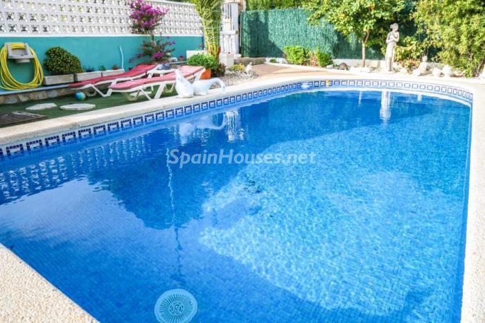 piscina118 - Una casa coqueta, navideña y confortable en Miami Playa (Costa Dorada, Tarragona)