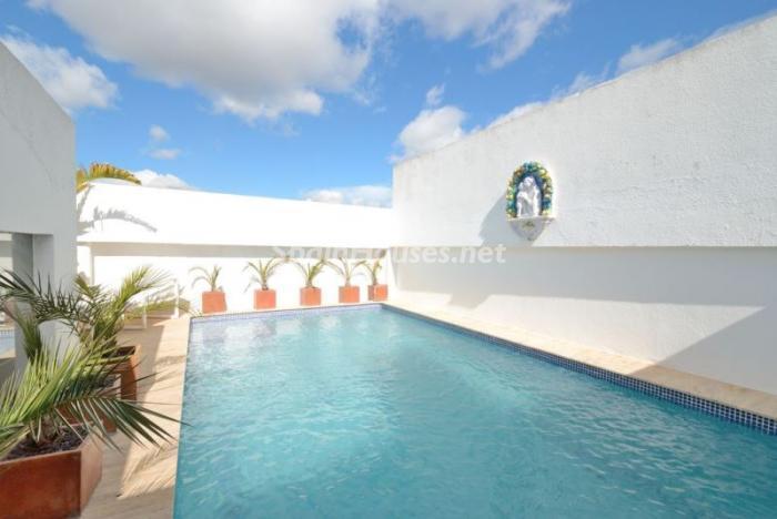 piscina13 - Casa de la Semana: Precioso ático de lujo en Marina Botafoch, Ibiza