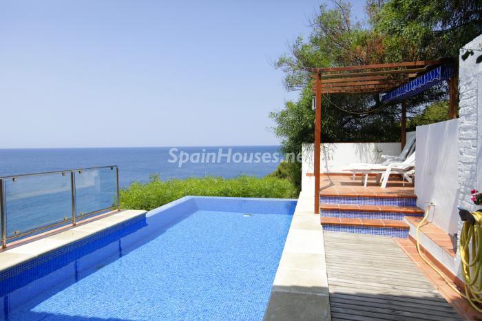 piscina21 - Casa de la Semana: Fantástica villa en La Herradura, Almuñécar (Costa Tropical)