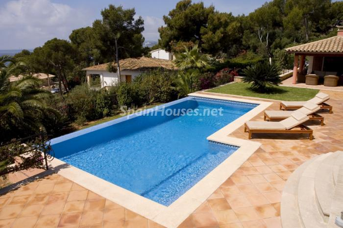 piscina22 - Casa de la Semana: Fantástica villa de lujo en Calvià, Mallorca (Islas Baleares)