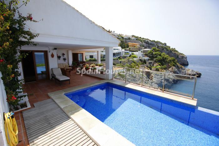 piscina4 - Casa de la Semana: Fantástica villa en La Herradura, Almuñécar (Costa Tropical)