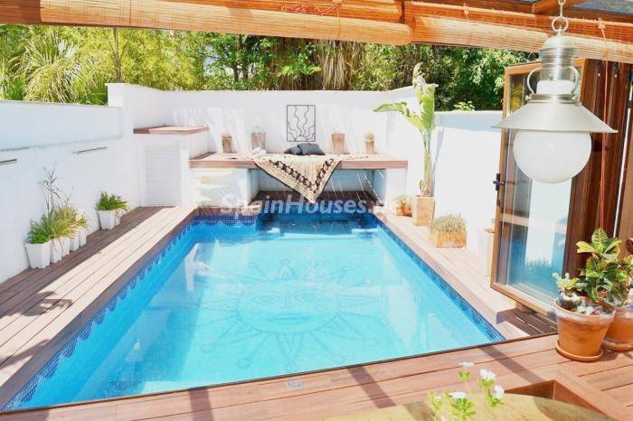 piscina49 - Coqueto y luminoso chalet en alquiler en Son Rapinya, Palma de Mallorca