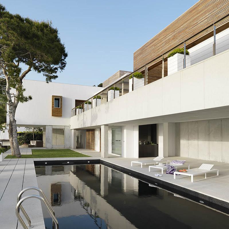 piscina50 - Puro blanco sobre el mar en una espectacular casa en Almuñécar (Costa Tropical, Granada)