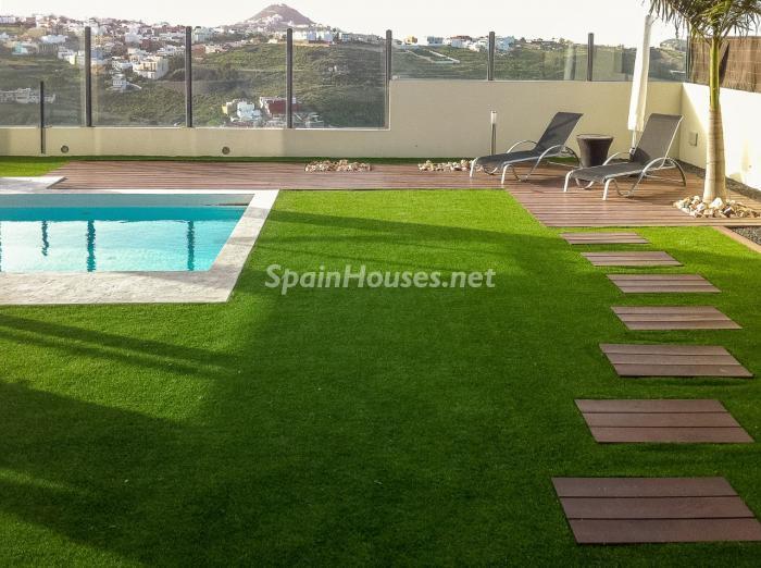 piscina60 - Precioso chalet de diseño contemporáneo en Las Palmas de Gran Canaria
