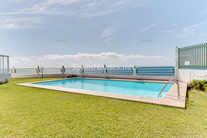 piscina61 - Coqueto y luminoso apartamento en San Agustín, San Bartolomé de Tirajana (Las Palmas)