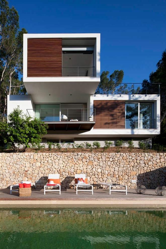 piscinaycasa 6 - Diseño modular y mediterráneo en una genial casa en Pollensa (Mallorca, Baleares)