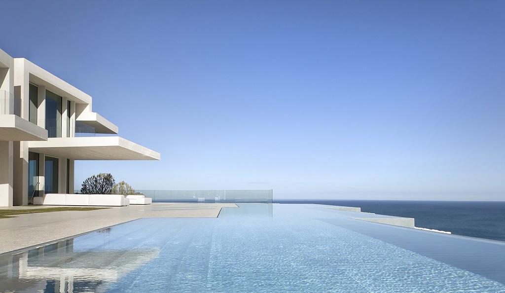 piscinaymar4 - Casa Sardinera, Jávea (Costa Blanca): diseño imponente y liviano frente al mar