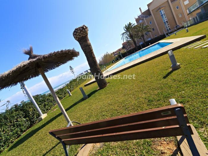 piscinayurbanizacion - Vacaciones en playa de Las Marinas, Dénia (Costa Blanca) con vistas panorámicas al mar