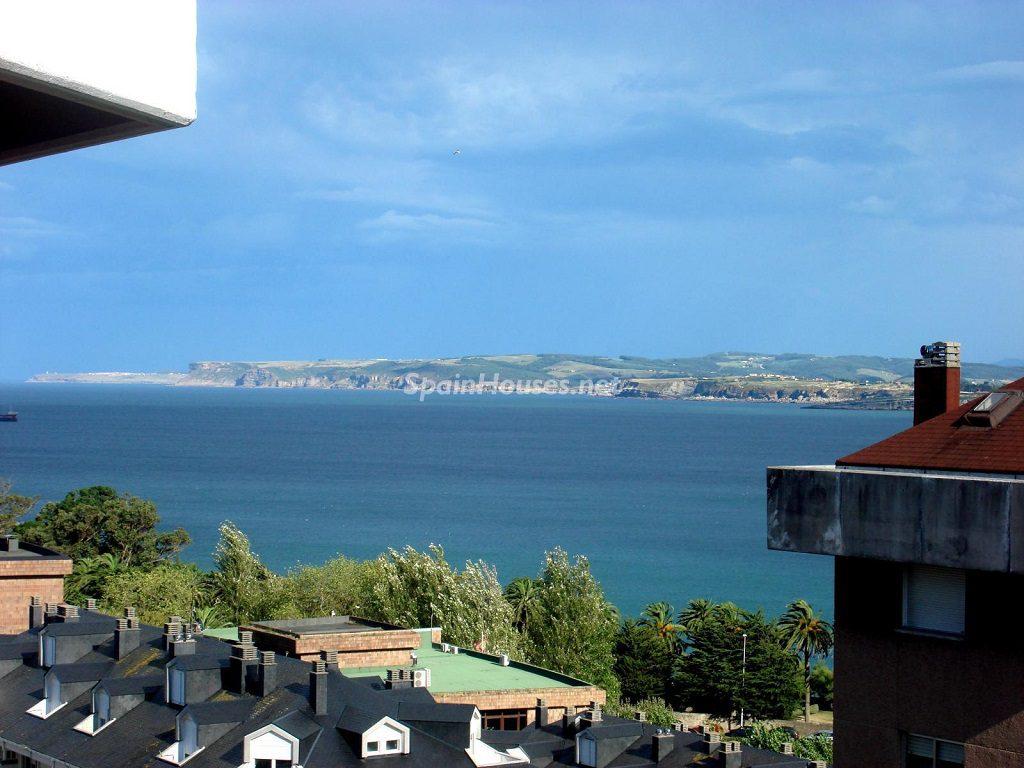 Vistas desde un piso en alquiler en Santander (Cantabria)