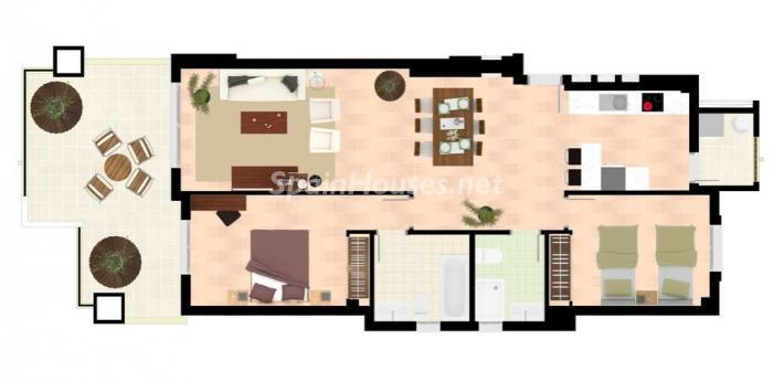 plano piso marbella - Los riesgos de los pisos y casas en construcción: 6 consejos para comprar sobre plano