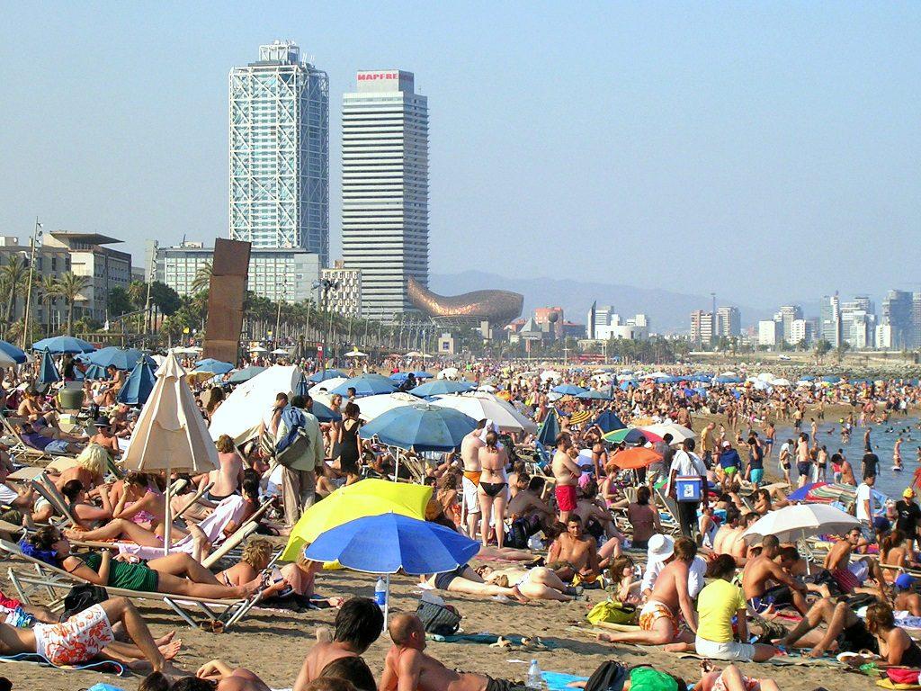 Playa de la Barceloneta, Barcelona - Foto: Otto Normalverbraucher