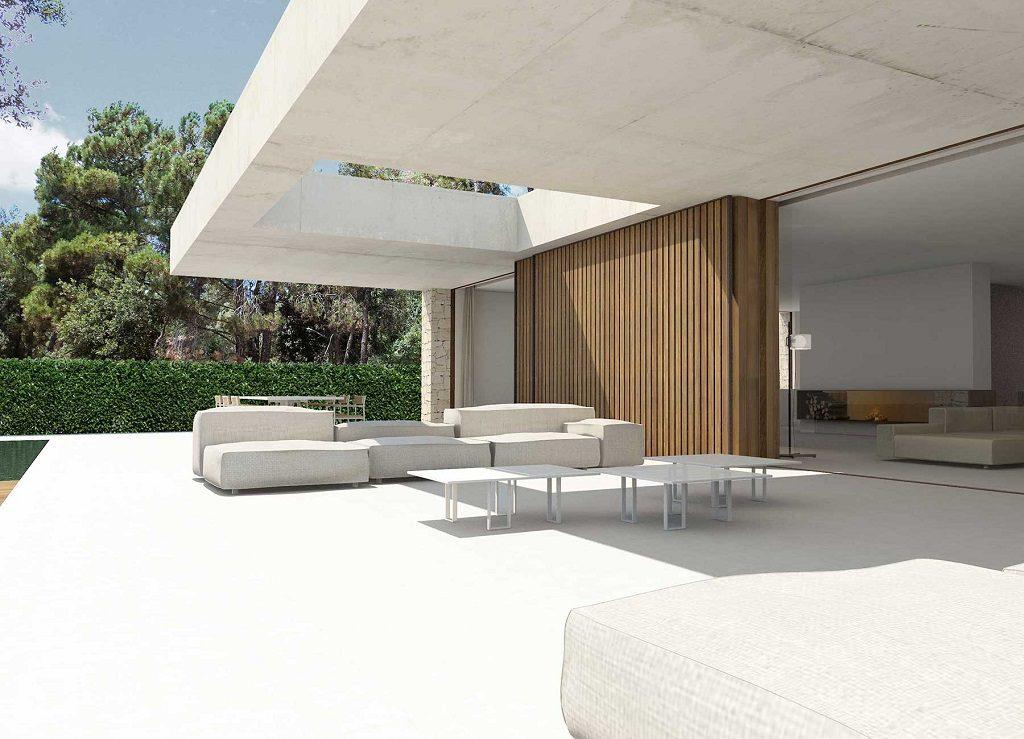 porche 19 1024x739 - En La Cañada, casa contemporánea y minimalista a 5 km de Valencia