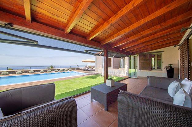 porche 34 - Villa con vistas al mar en Tenerife: una casa de ensueño