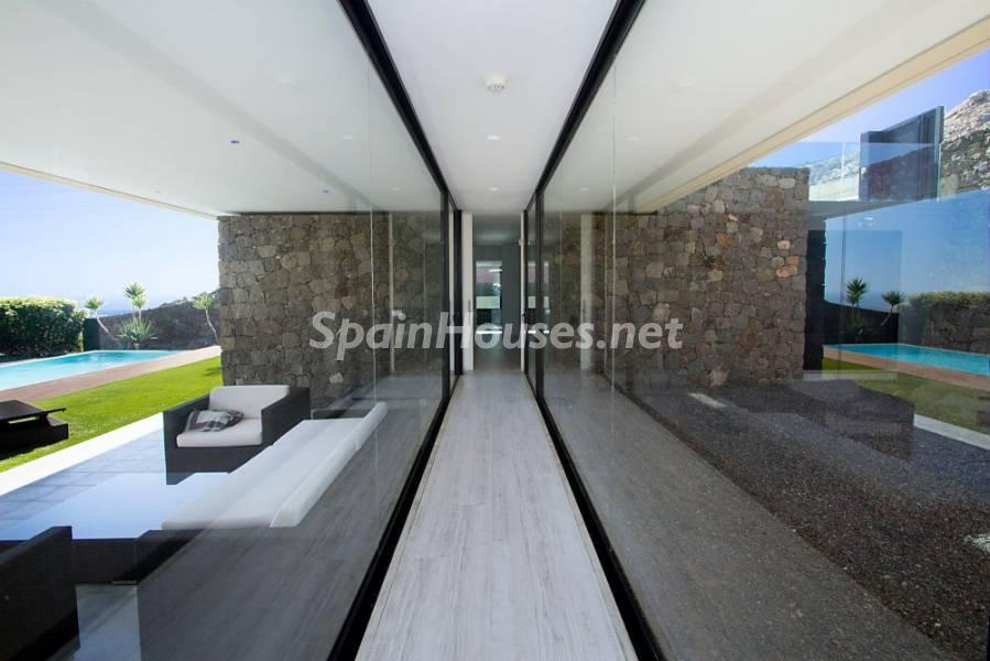 porche1 4 - Fantástica casa de diseño moderno en Monte León, San Bartolomé de Tirajana (Las Palmas)