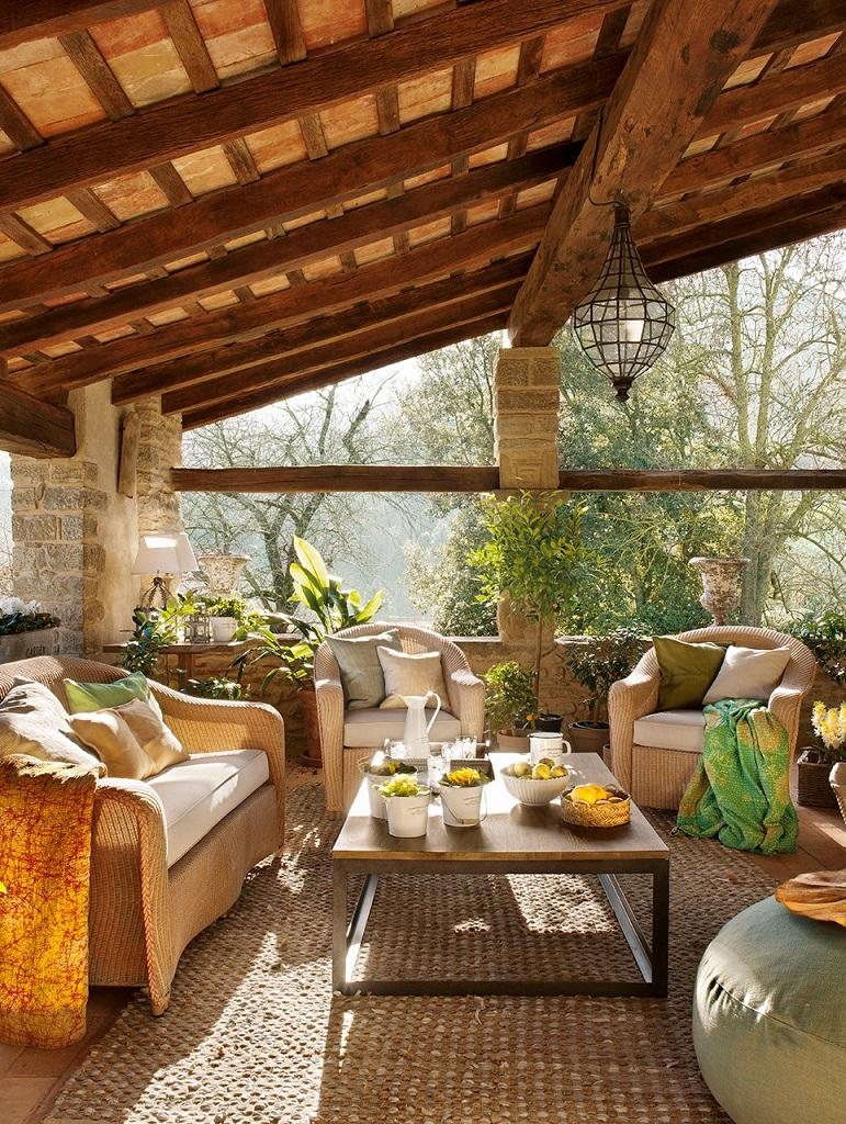 porche26 - Masía del s. XVI reconvertida en espectacular casa rural en La Garrotxa, Girona