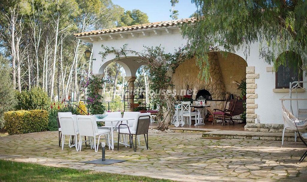 porcheycasa 2 1024x608 - Preciosa casa rústica entre viñedos y naturaleza en el Bajo Penedés, Tarragona