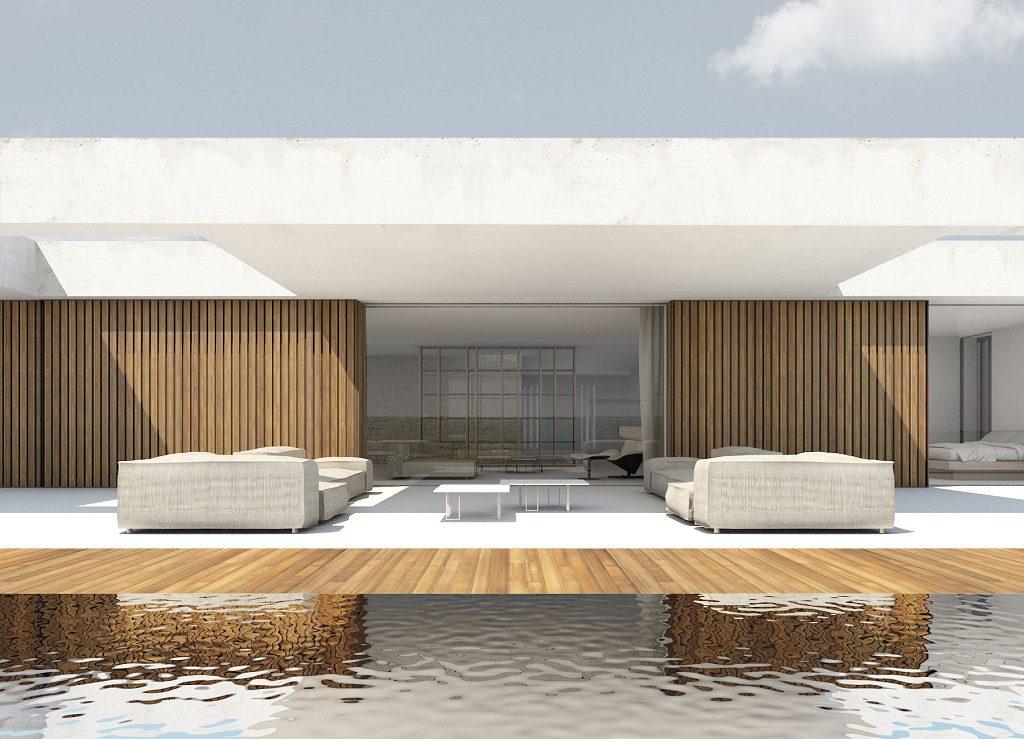 porcheypiscina 11 1024x739 - En La Cañada, casa contemporánea y minimalista a 5 km de Valencia