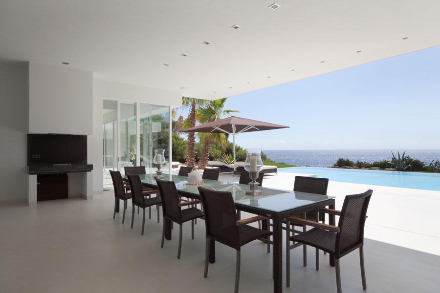 porcheyvistas - Espectacular y luminosa casa de diseño frente al mar en Cala d'Or, Santanyí (Mallorca)