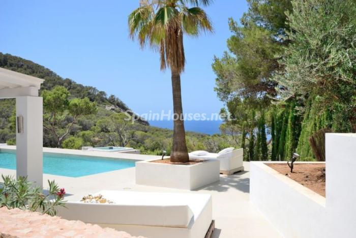 porcheyvistas1 - Fantástica villa en Cala Vadella (San José, Ibiza): blanca, luminosa y mediterránea