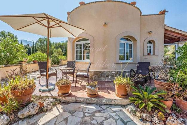 portada 1 - Maravillosa villa de estilo mallorquín: gran privacidad junto a la costa