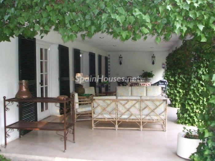 pozuelodealarcon madrid - Casas de otoño: terrazas, jardines, rincones llenos de encanto y calidez otoñal