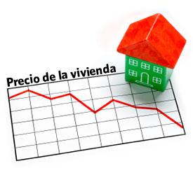 Baja el precio de las casas en febrero
