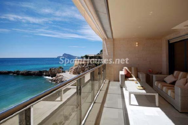 Apartamento frente al mar en Altea (Costa Blanca, Alicante)
