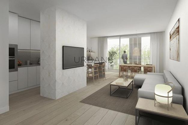 principal piso lujo barcelona - Este apartamento de lujo en Barcelona lo tiene todo: amplitud, ambientes modernos y terraza privada