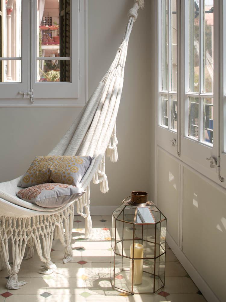 """relax interior - Toque """"Art Novou"""" con jardín en una elegante casa modernista en Barcelona"""