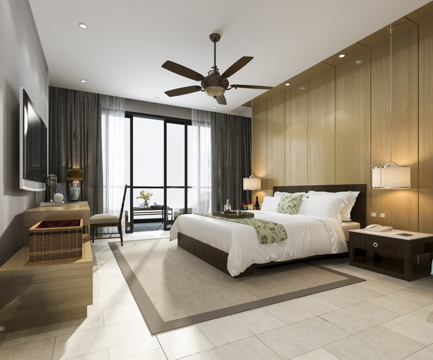 renderizado 3d suite dormitorio tropical lujo resort hotel resort 105762 866 - Alfombras: Cómo elegirlas y cómo colocarlas