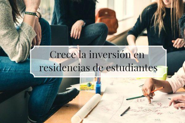 residencia de estudiantes 600x399 - Crece la inversión en residencias de estudiantes