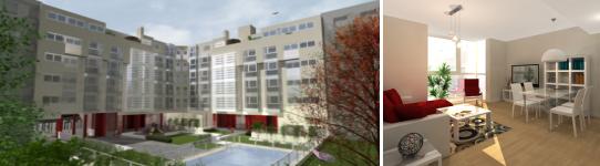 residencial marsella2 - Residencial Marsella, viviendas en Madrid con la máxima eficiencia energética