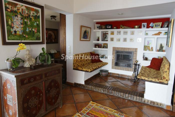 rincon salon - Casa de la Semana: Fantástica villa en La Herradura, Almuñécar (Costa Tropical)