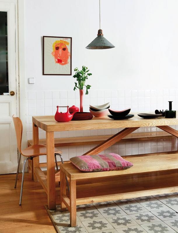 rohner5 - Un genial ejemplo de Home Staging. La casa de Helena Rohner